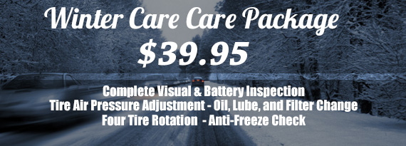 $39.95 Winter Car Care Package